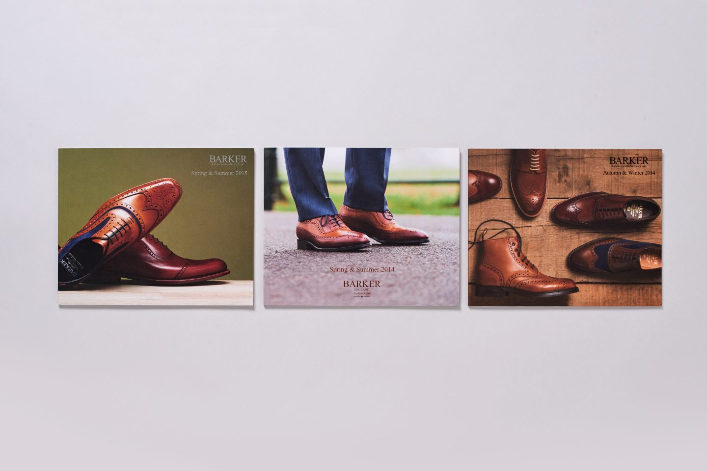 Barker Shoes – Retail catalogue – Front covers