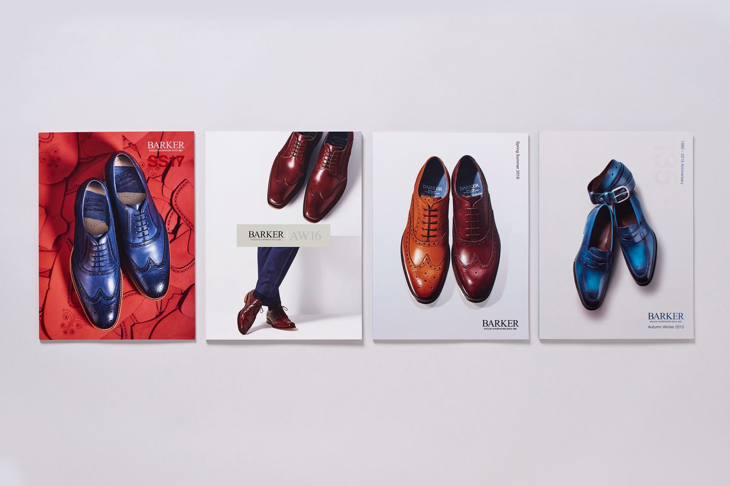 Barker Shoes – Retail catalogue –Front covers