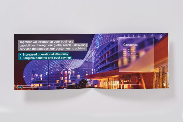 MCP – UAE corporate brochure – Inside spread