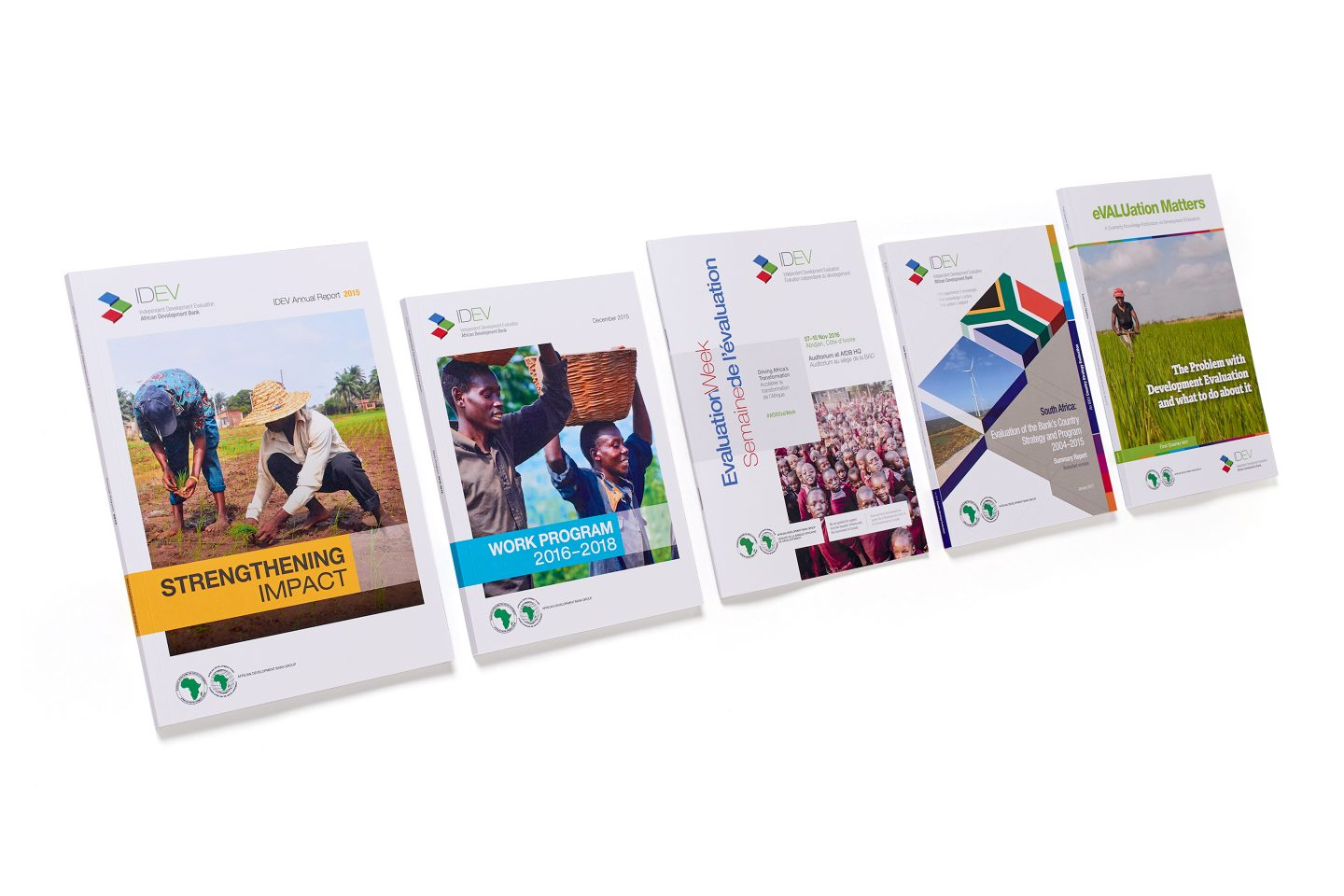 AfDB IDEV – Marketing collateral