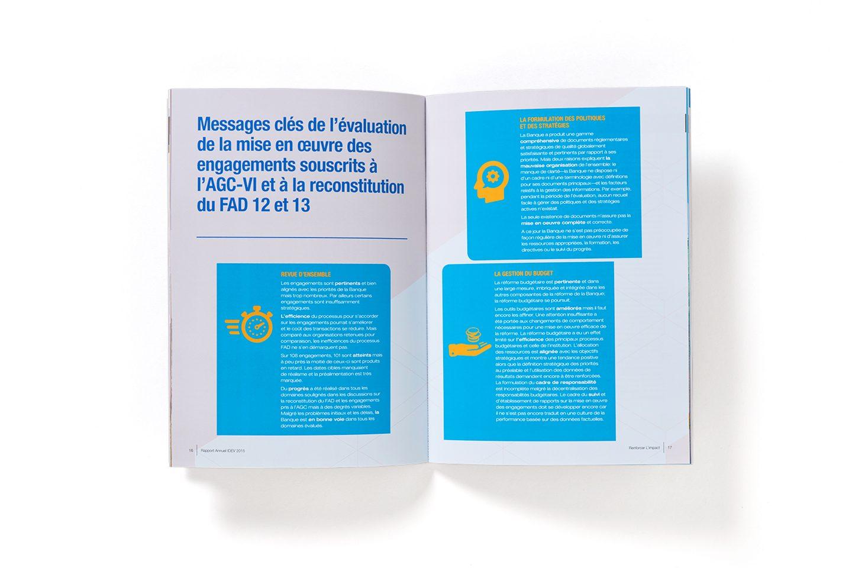 AfDB IDEV –Annual Report –Inside spread
