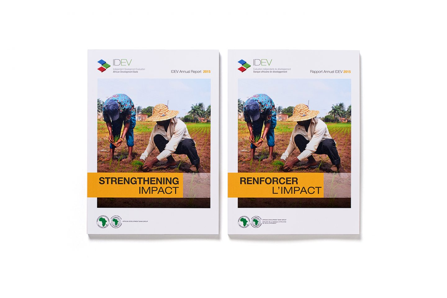 AfDB IDEV – Annual Report – Front covers
