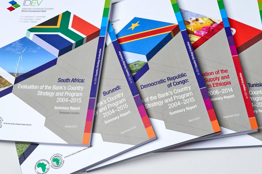 AfDB IDEV – Evaluation Reports – Front Covers
