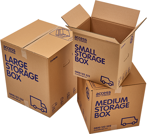 Access Self Storage Boxes