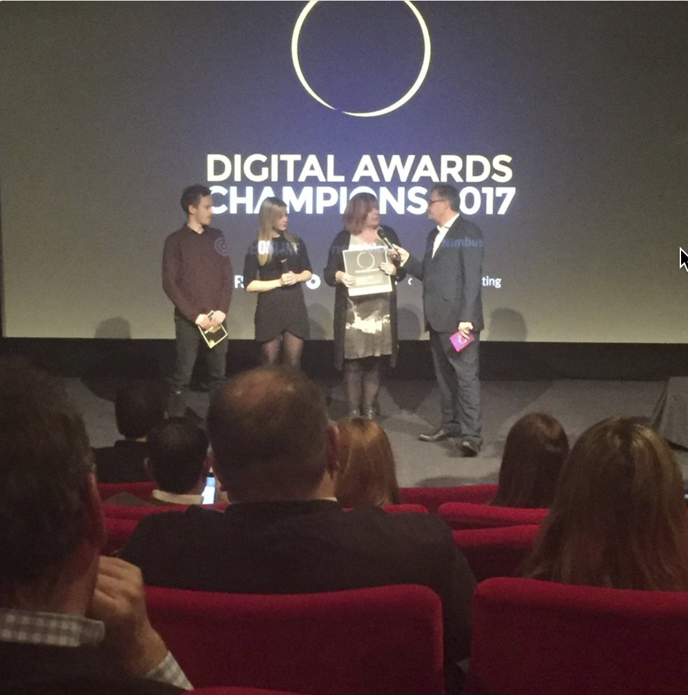 Digital Awards Champions 2017 Winners