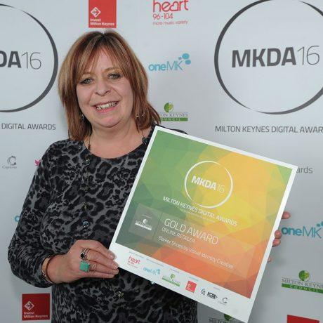 It's a photo finish at the Milton Keynes Digital Awards