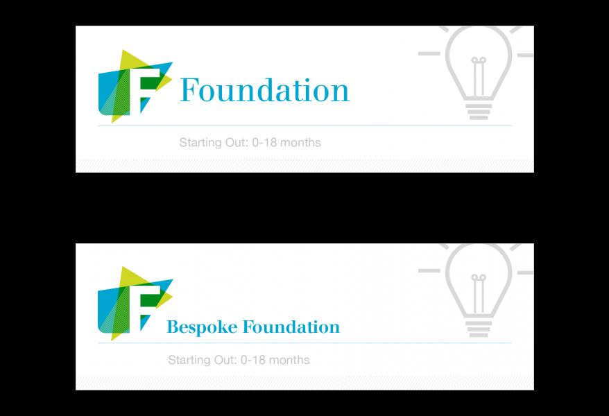 BVCA –Foundation branding banners