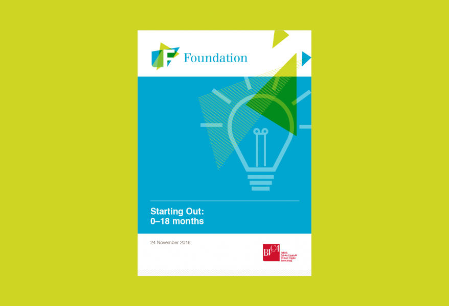 BVCA – Foundation course leaflet – Cover