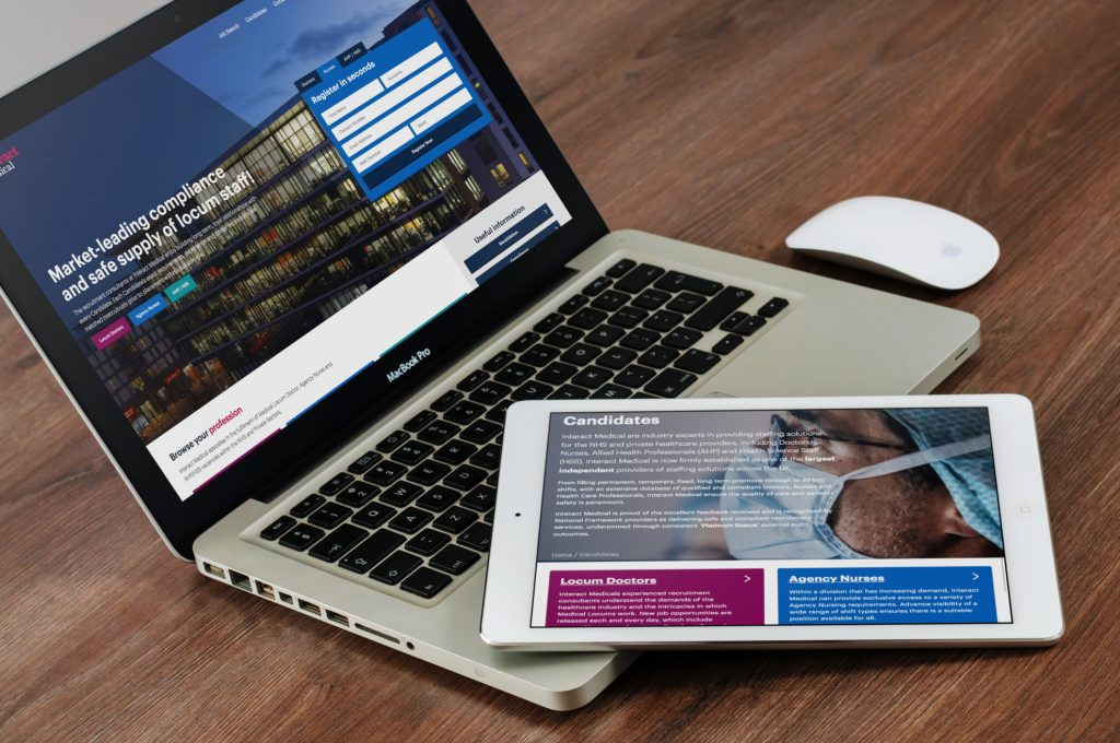 Interact Medical Bespoke Website Development