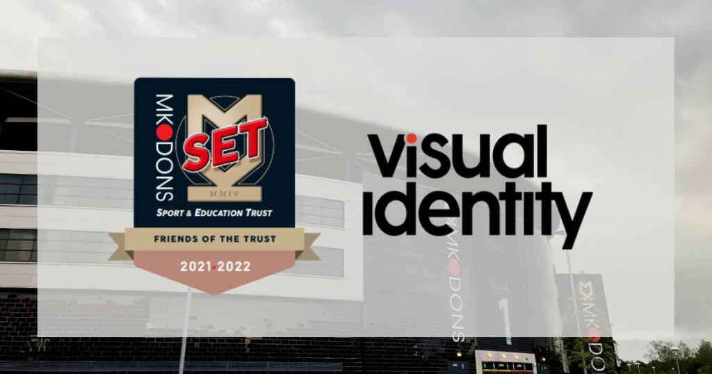 MK Dons SET and Visual Identity partnership